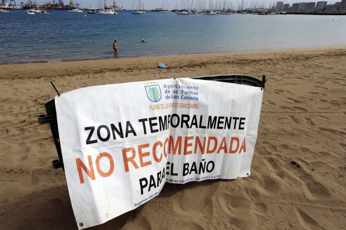 El PP solicita al Tripartito que se intensifique la coordinación con la Autoridad Portuaria para contención de vertidos en el litoral capitalino