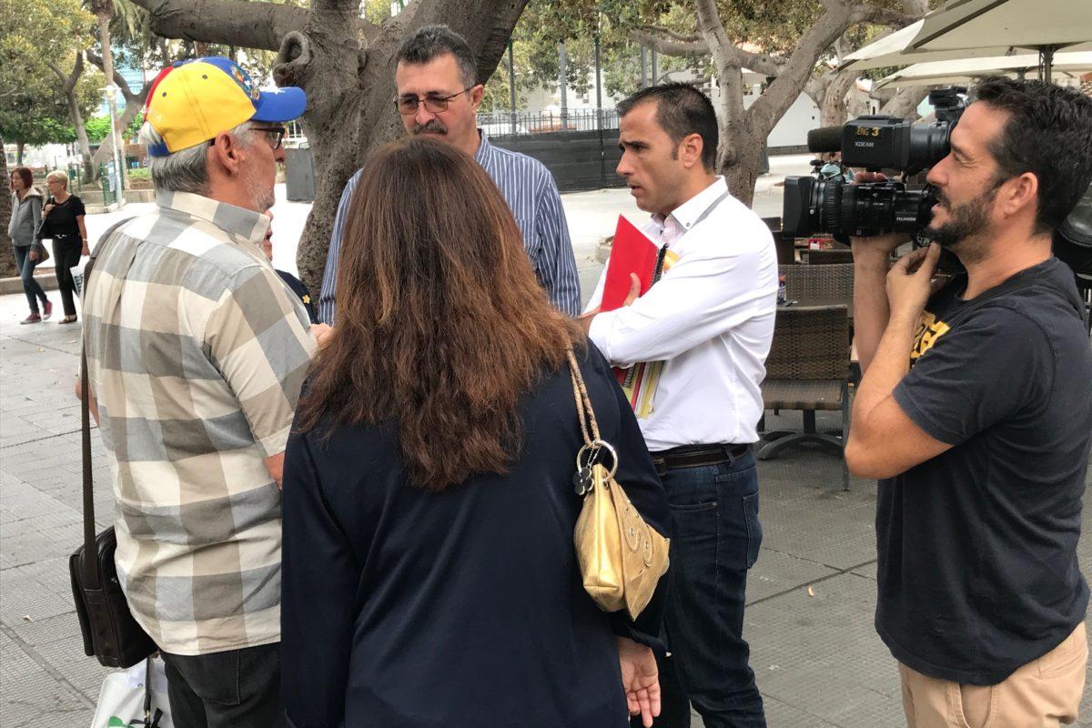 El PP exige al tripartito poner en marcha el convenio para que los jubilados canario-venezolanos de LPGC accedan a las ayudas del Gobierno canario