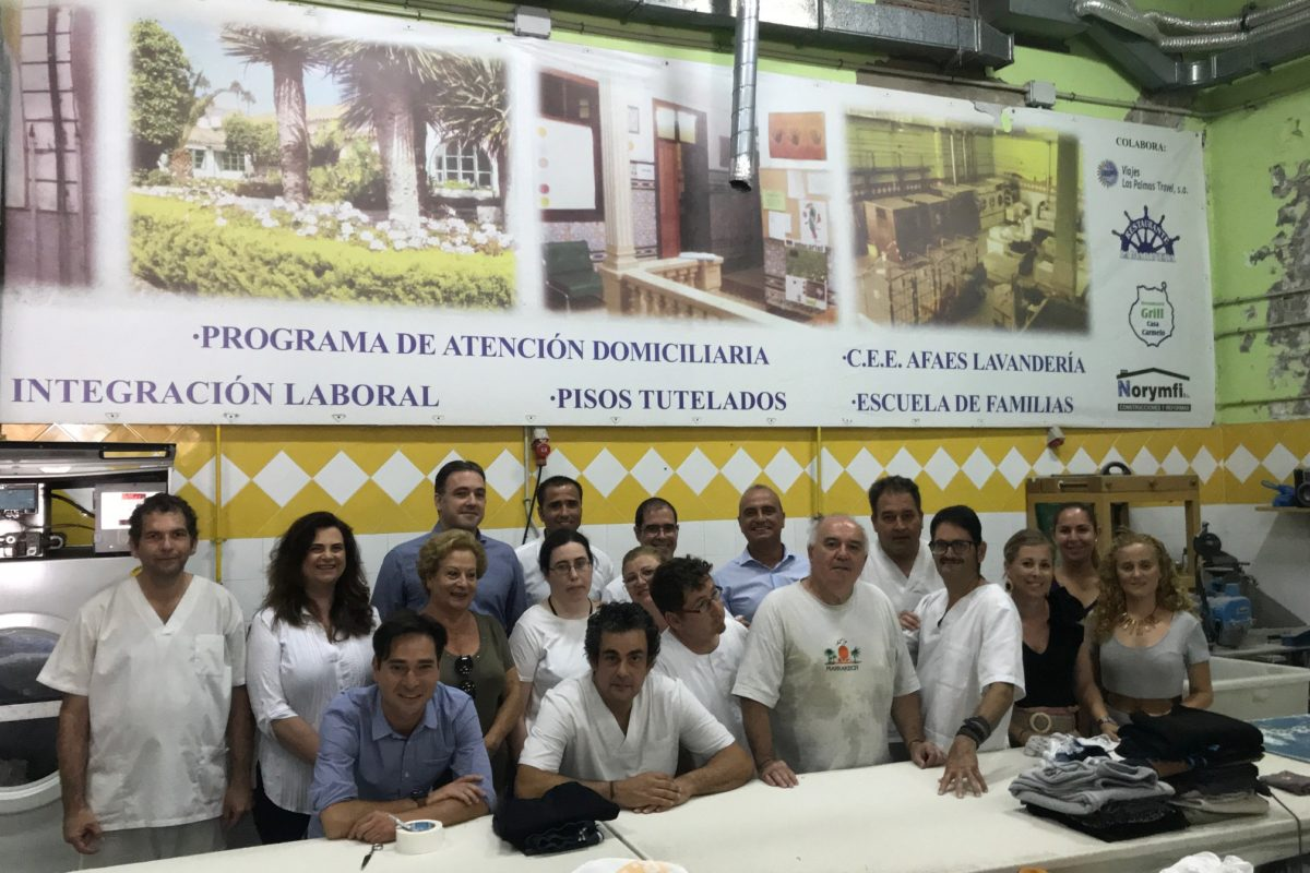 El PP visita el centro especial de empleo de AFAES