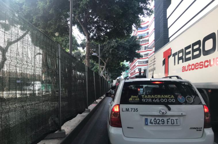 """Sabroso: """"El caos circulatorio vivido hoy en LPGC tras el cierre de un tramo de Mesa y López es 'marca de la casa' del Tripartito"""""""