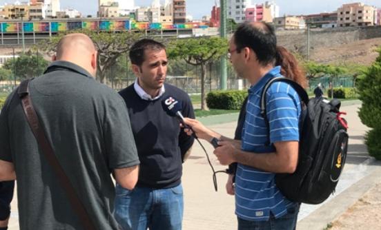 """El PP anima a todos los vecinos a parar """"el disparate"""" del Tripartito de destrozar el parque de Las Rehoyas y eliminar uno de sus campos de fútbol"""