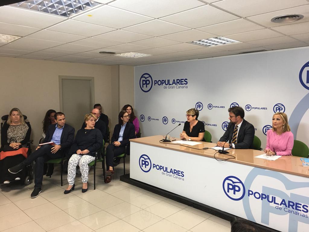 El PP elige a Salud Gil como candidata para recuperar la Alcaldía de Las Palmas de Gran Canaria