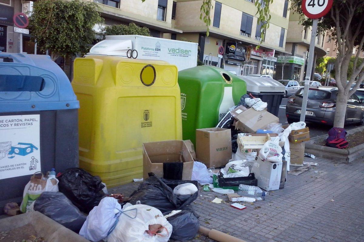 """El PP denuncia el estado """"calamitoso"""" de la limpieza y adelanta que si gobierna pondrá en marcha """"un plan de choque sin precedentes"""" en todos los barrios"""