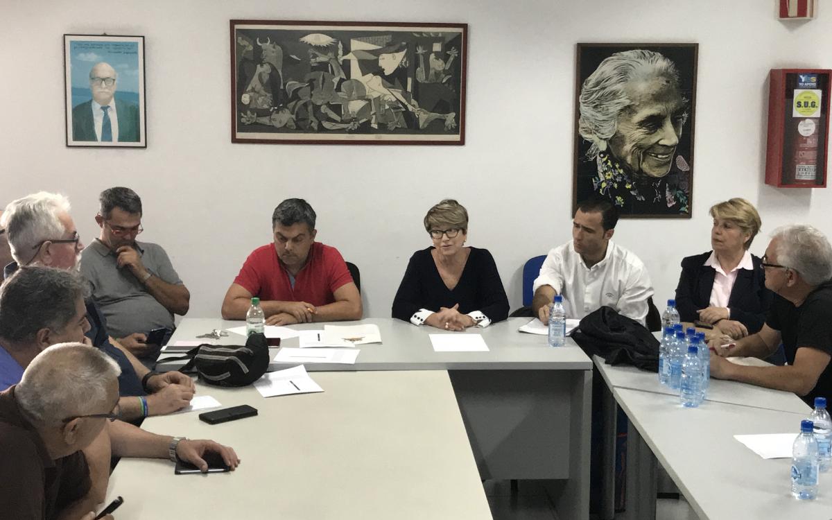 """Salud Gil reitera que Guaguas Municipales es una """"herramienta fundamental"""" para la resolución de los problemas de tráfico de LPGC"""
