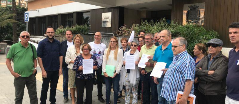 """Luzardo anuncia que """"dará la batalla"""" junto a los vecinos de La Suerte para paralizar la eliminación de una gran zona verde por el tripartito"""