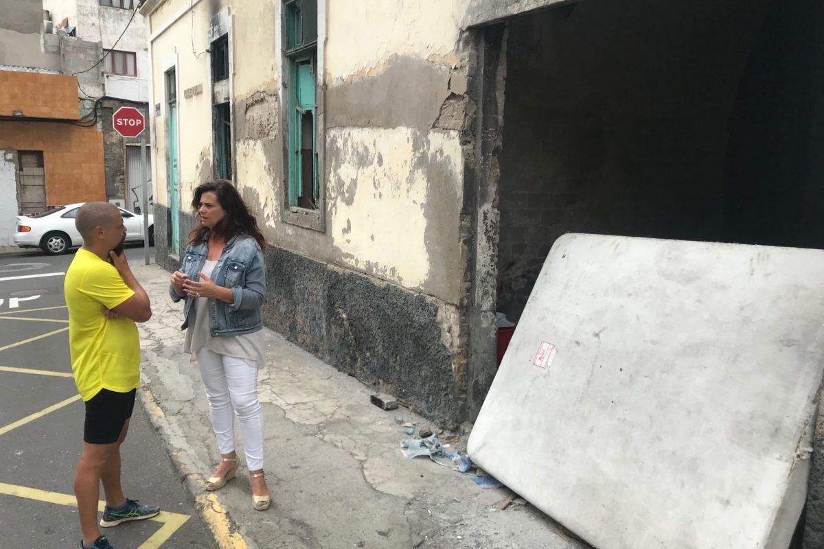 """El PP demanda a Hidalgo """"más medios personales y económicos"""" para erradicar las casas ocupadas existentes en La Isleta y Arenales"""