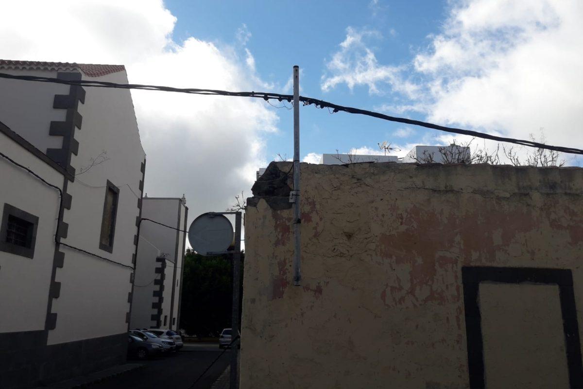 El PP exige a Hidalgo reforzar la seguridad en Tafira y propone rehabilitar aceras y calzadas del casco histórico