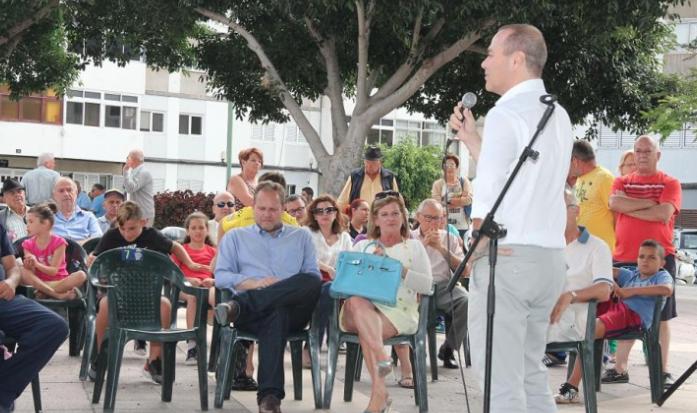"""Luzardo exige a Hidalgo que deje de dar excusas de """"mal gestor"""" y pague de una vez a las entidades del tercer sector, que están en una situación """"límite"""""""