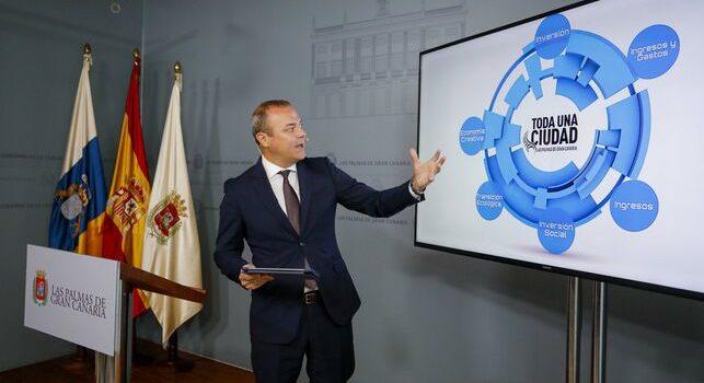 """Luzardo lamenta que los Presupuestos de Hidalgo mantengan """"congelados"""" los convenios con las entidades del tercer sector mientras incrementa las partidas para """"jolgorios y parranda """""""