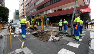 El PP solicita en el Pleno que se garantice la estabilidad de Néstor de la Torre tras seis hundimientos y que se restrinja el tráfico pesado