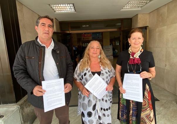 PP, Ciudadanos y CC-UxGC acusan a Hidalgo de vulnerar sus derechos políticos y fundamentales al negarse a convocar ni plenos ni comisiones