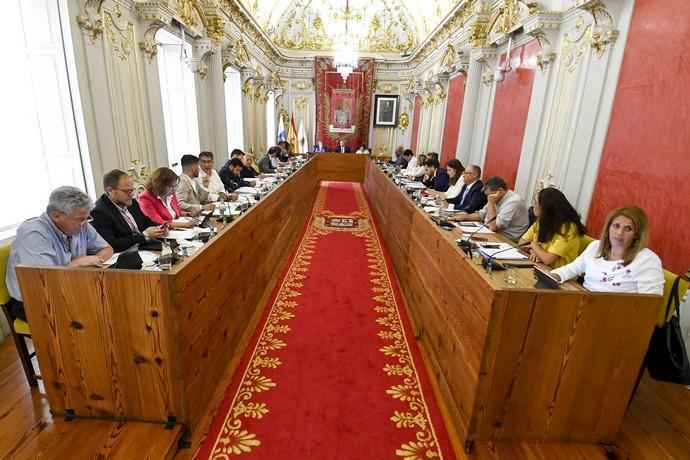 """Luzardo solicita la recuperación de las sesiones plenarias y de las comisiones para """"poner en marcha la ciudad"""" de cara al """"día después"""" del confinamiento"""